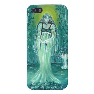 Lady Moon Iphone 5 Case