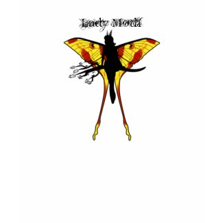 Lady Moth shirt