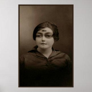 Lady Mothalla Print