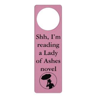 Lady of Ashes Door Hanger, Pink - Shh Door Hanger