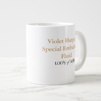 Lady of Ashes Jumbo Mug - Embalming Fluid