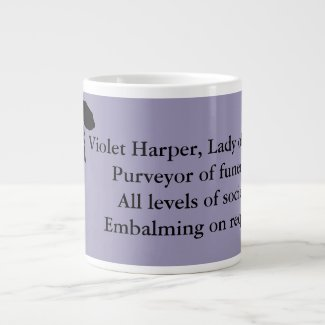 Lady of Ashes, Jumbo Mug - Violet Harper