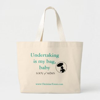 Lady of Ashes, Jumbo Tote - Undertaking