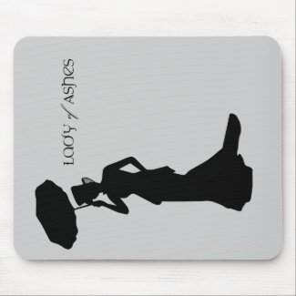 Lady of Ashes Mousepad, Vertical Mouse Pad