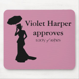 Lady of Ashes Mousepad  - Violet Approves