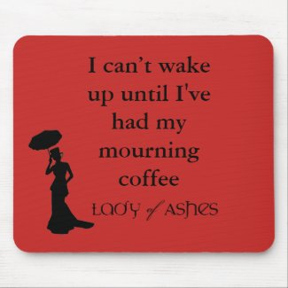Lady of Ashes Mousepad - Wake Up