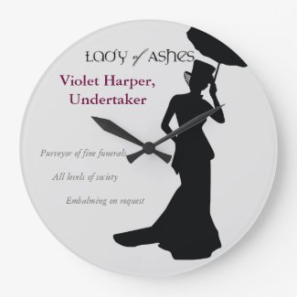 Lady of Ashes, Round Wall Clock