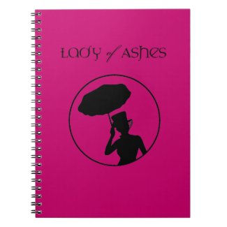 Lady of Ashes Spiral Notebook