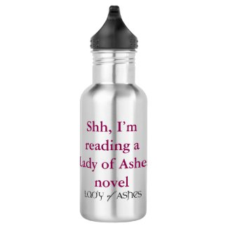 Lady of Ashes Water Bottle - Shh