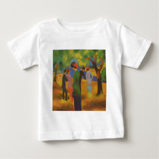 Lady of coat of green baby T-Shirt