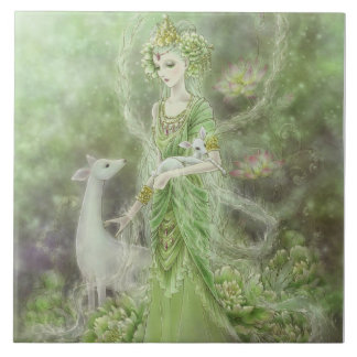 Lady of Compassion Tile