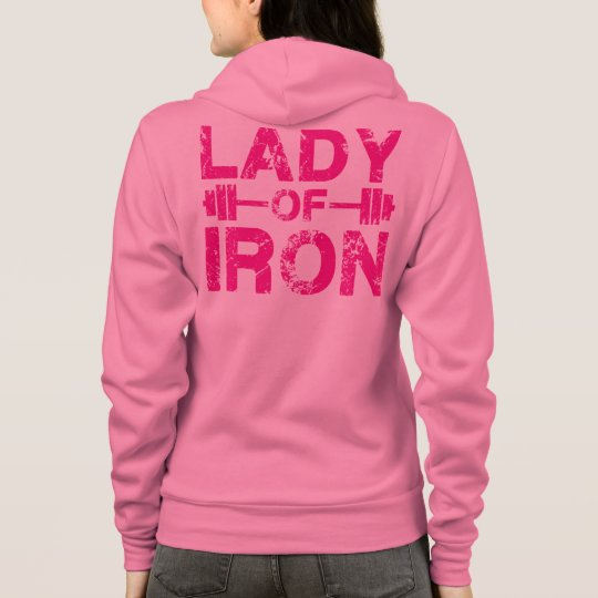 Lady of Iron Hoodie