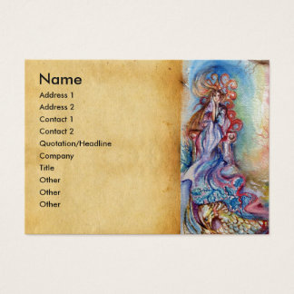 LADY OF LAKE , Magic and Mystery Business Card