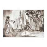 LADY OF LAKE , Magic and Mystery Gallery Wrapped Canvas