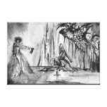 LADY OF LAKE , Magic and Mystery Canvas Prints