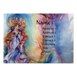 LADY OF LAKE , Magic and Mystery Large Business Card