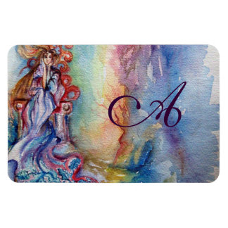 LADY OF LAKE  / Magic and Mystery monogram Magnet