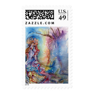 LADY OF LAKE , Magic and Mystery Stamps