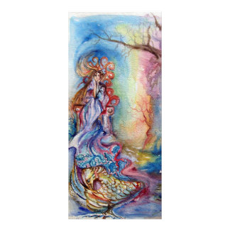 LADY OF LAKE , Magic and Mystery Rack Card