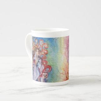 LADY OF LAKE  / Magic and Mystery Porcelain Mugs