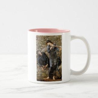 Lady of Lake Two-Tone Coffee Mug