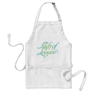 Lady Of Leisure 3 Adult Apron