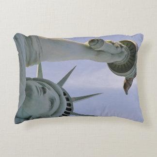 Lady of Liberty Decorative Pillow