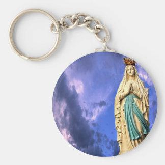 Lady of Lourdes Keychain