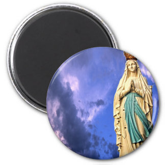 Lady of Lourdes Magnet