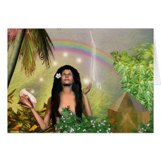 Lady of Mount Wai'ale'ale Cards