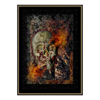 Lady of Pain (large) Print