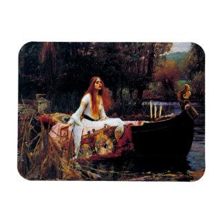 Lady Of Shallot Boat Waterhouse Art Photo Magnet