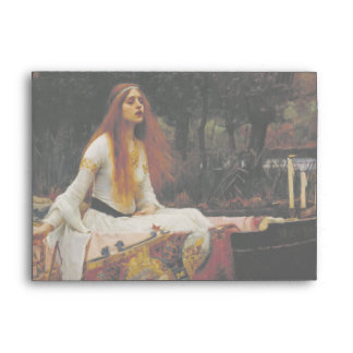 Lady of Shallot by John William Waterhouse Envelope