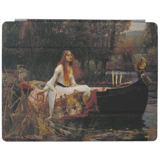 Lady of Shallot by John William Waterhouse iPad Cover