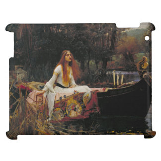 Lady of Shallot by John William Waterhouse iPad Covers