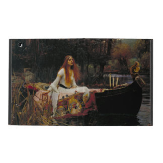 Lady of Shallot by John William Waterhouse iPad Folio Case