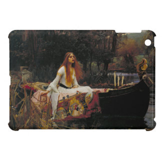 Lady of Shallot by John William Waterhouse iPad Mini Case