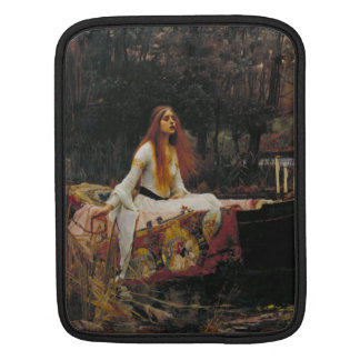 Lady of Shallot by John William Waterhouse iPad Sleeves