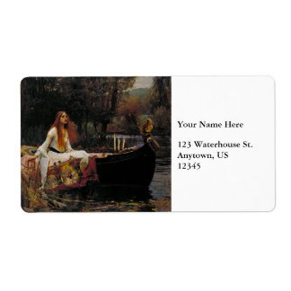 Lady of Shallot by John William Waterhouse Labels