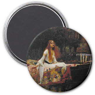 Lady of Shallot by John William Waterhouse Magnets