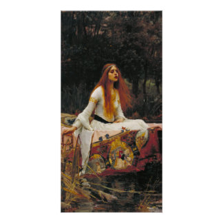 Lady of Shallot by John William Waterhouse Photo Card