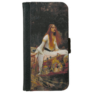 Lady of Shallot by John William Waterhouse iPhone 6 Wallet Case