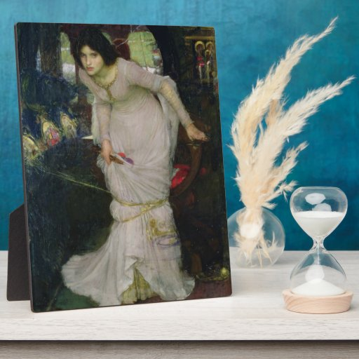 Lady of Shallot by John William Waterhouse Photo Plaques