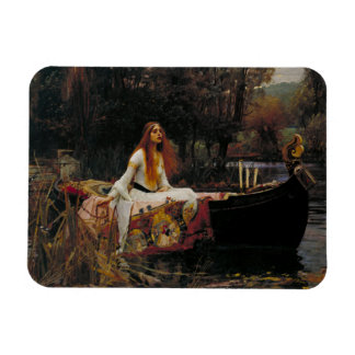 Lady of Shallot by John William Waterhouse Flexible Magnet