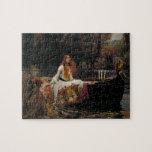 Lady of Shallot by John William Waterhouse Jigsaw Puzzles