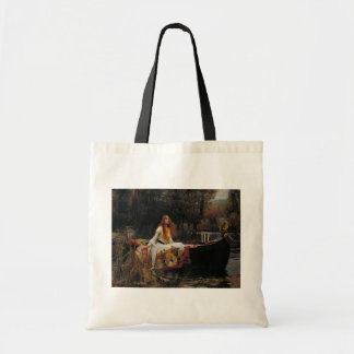 Lady of Shallot by John William Waterhouse Tote Bag