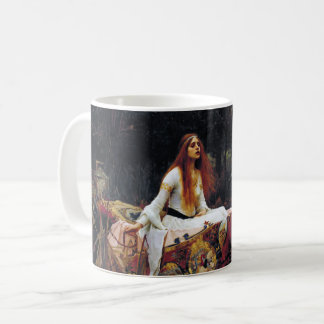 Lady Of Shallot on Boat Waterhouse Art Mug