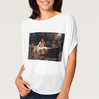 Lady Of Shallot on Boat Waterhouse Art Shirt