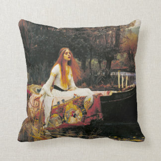 Lady of Shallot Pillow