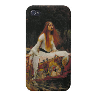 Lady of Shallot Pre-Raphaelite Painting iPhone 4/4S Case